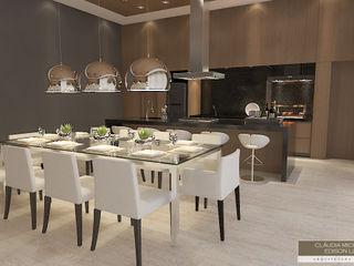 Horta e Vello Arquitetura e Interiores Modern dining room Wood Wood effect