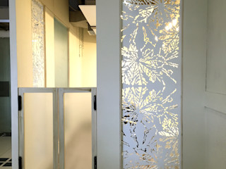 TULI ARCHITECTS AND ENGINEERS Commercial Spaces Plastic White