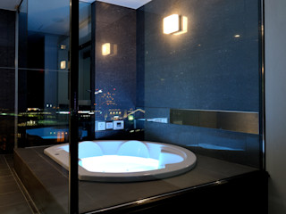 株式会社 Atelier-D BathroomBathtubs & showers Stone Brown