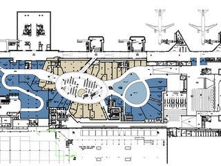 Reabilitação geral do Aeroporto de Lisboa (em obra) MIGUEL VISEU COELHO ARQUITECTOS ASSOCIADOS LDA Lapangan terbang