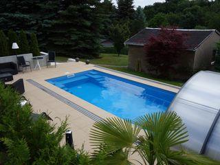 Compasspool Fertzigbecken Kunde FKB Schwimmbadtechnik Modern pool