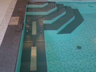 Foliebecken indoor FKB Schwimmbadtechnik Modern pool