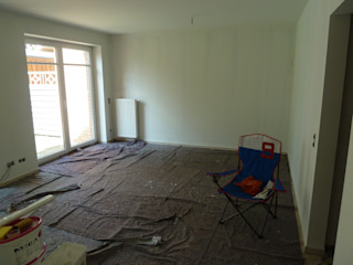 Home Staging eines leeren Reihen-Mittelhauses MK ImmoPromotion