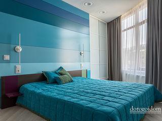 Солнечная квартира. г. Ялта Дорогой Дом Спальня в стиле минимализм