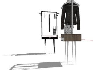 Amandine Leblanc Corridor, hallway & stairsClothes hooks & stands