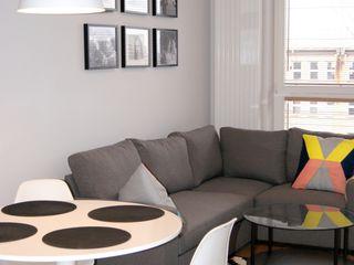ZIZI STUDIO Magdalena Latos Modern Living Room Grey