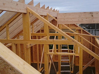 St Keverne Cornwall - Timber Frame House Project Building With Frames Modern Houses Wood
