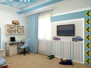 Цунёв_Дизайн. Студия интерьерных решений. Dormitorios infantiles Blanco
