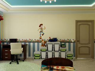 Цунёв_Дизайн. Студия интерьерных решений. Dormitorios infantiles clásicos
