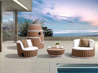 Outdoor Lounge Serie Honolulu Rattania GmbH GartenMöbel