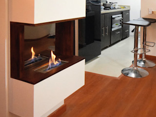 Origen chimeneas HaushaltAccessoires und Dekoration Holz Holznachbildung