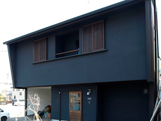 アトリエdoor一級建築士事務所 房子 木頭 Black