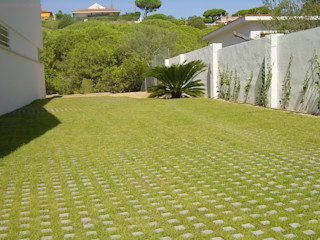 Mazagón Estudio Marta Byrne Paisajismo Jardines de estilo moderno