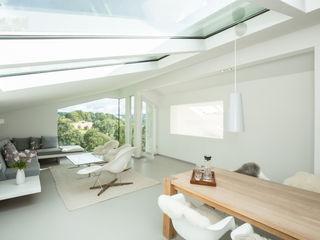 Karl Kaffenberger Architektur   Einrichtung 现代客厅設計點子、靈感 & 圖片