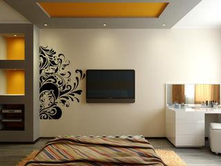 Цунёв_Дизайн. Студия интерьерных решений. Dormitorios modernos