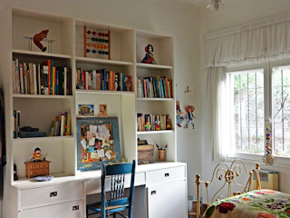 Estudio 17.30 Eclectic style bedroom