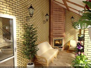 Цунёв_Дизайн. Студия интерьерных решений. Jardines de invierno rurales