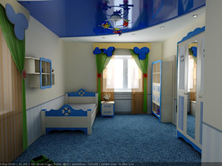 Цунёв_Дизайн. Студия интерьерных решений. Dormitorios infantiles