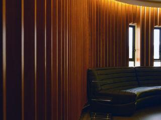 Wowa Modern Living Room Wood Black