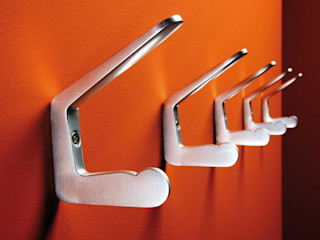 rosconi GmbH Corridor, hallway & stairs Clothes hooks & stands Metallic/Silver