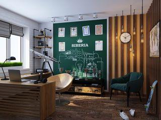IdeasMarket Study/office Bricks White