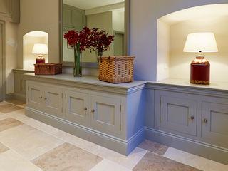 Georgian Basement Etons of Bath 經典風格的走廊,走廊和樓梯 Grey