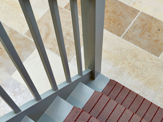 Georgian Basement Etons of Bath 經典風格的走廊,走廊和樓梯