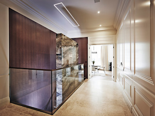 5&6 Connaught Place, Hyde Park, London. Flairlight Designs Ltd Couloir, entrée, escaliers classiques