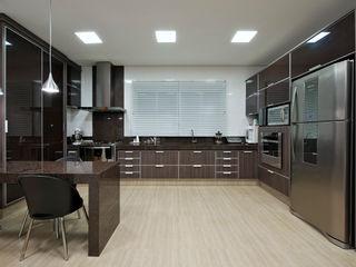 Livia Martins Arquitetura e Interiores Minimalist kitchen