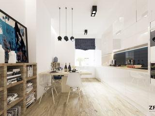 ZR-architects Moderne Küchen