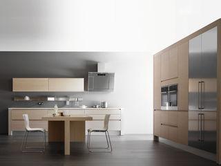 Diseño de Cocina Métrica ARCE FLORIDA Cocinas de estilo moderno Madera Acabado en madera
