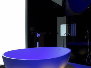 Bathroom design Quirke McNamara 浴室 Black