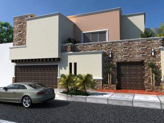 OLLIN ARQUITECTURA Modern Houses