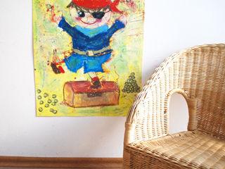 Kinderzimmerposter in A2, A3 und A4 Little Walking Wolf KinderzimmerAccessoires und Dekoration