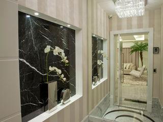 Designer de Interiores e Paisagista Iara Kílaris Modern Corridor, Hallway and Staircase