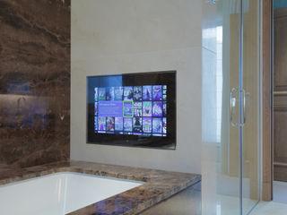 Bathroom TV London Residential AV Solutions Ltd Modern Bathroom