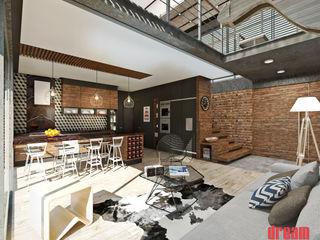 Estudio Meraki Eclectic style living room