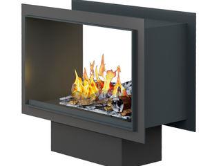Tunnel Fire muenkel design - Elektrokamine aus Großentaft SalonesChimeneas y accesorios