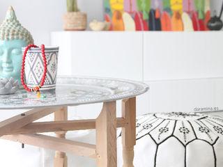 dar amïna Living roomSide tables & trays