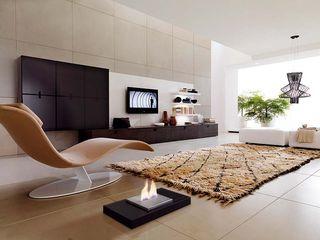 Shio Concept Modern living room Iron/Steel Black