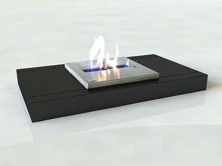 Shio Concept Living roomFireplaces & accessories Iron/Steel Black