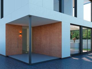 NUÑO ARQUITECTURA Casas modernas: Ideas, imágenes y decoración Derivados de madera Acabado en madera