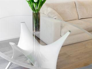 senzanumerocivico Living room Concrete