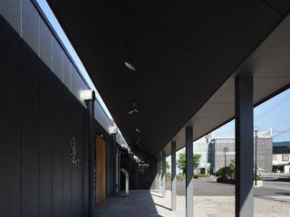 原口剛建築設計事務所 Koridor & Tangga Modern