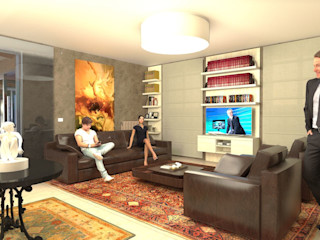 Living Room Planet G Soggiorno moderno