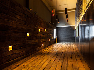 Barnabé Bustamante Ludlow Arquitectos Industrial style event venues Solid Wood Wood effect