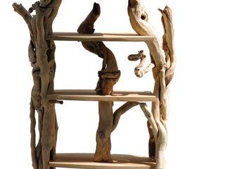 Livyng Ecodesign SalonEtagères Bois Effet bois