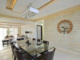 Spaces Architects@ka Salas de jantar modernas