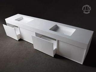 Copenhagen Bath - Maßanfertigung Copenhagen Bath BadezimmerWaschbecken Weiß