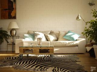 Etxe&Co Salas de estilo mediterraneo Madera Multicolor